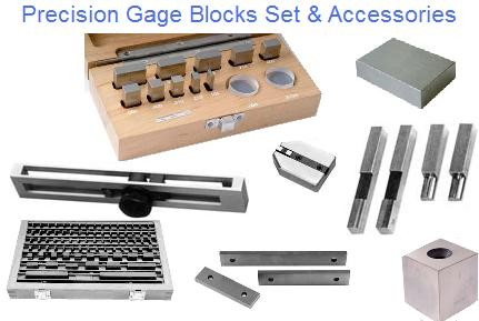 Precision Steel Gage Blocks and Micro Checking Set