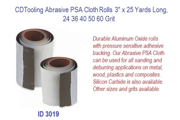 Abrasive PSA Cloth Rolls 3