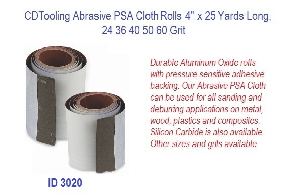 Abrasive PSA Cloth Rolls 4