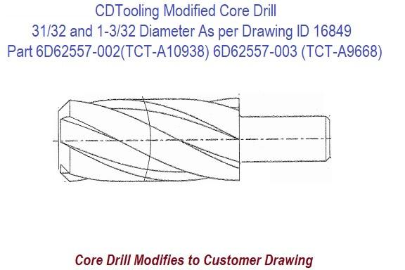 9//32 HSS Taper Shank Drill Bit Michigan Drill Series X200